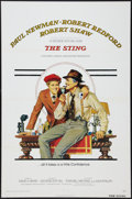 "Movie Posters:Crime, The Sting (Universal, 1974). One Sheet (27"" X 41"") Flat Folded.Crime.. ..."