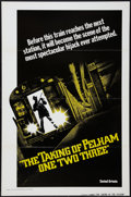 """Movie Posters:Crime, The Taking of Pelham One Two Three (United Artists, 1974).International One Sheet (27"""" X 41"""") Advance, Flat Folded. Crime...."""