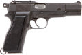 Handguns:Semiautomatic Pistol, Browning Hi Power Inglis Mark I Semi-Automatic Pistol....
