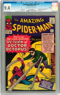Silver Age (1956-1969):Superhero, The Amazing Spider-Man #11 Circle 8 pedigree (Marvel, 1964) CGC NM9.4 Off-white to white pages....