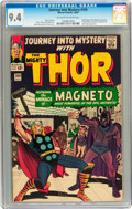 Silver Age (1956-1969):Superhero, Journey Into Mystery #109 (Marvel, 1964) CGC NM 9.4 Off-white to white pages....