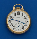Timepieces:Pocket (post 1900), Illinois 23 Jewel 14k Solid Gold Sangamo Special Pocket Watch. ...