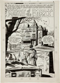 Original Comic Art:Splash Pages, Wayne Howard Ghostly Haunts #57 Splash Page 1 Original Art(Charlton, 1978)....