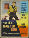 "Movie Posters:Western, The Left Handed Gun (Warner Brothers, 1958). Poster (30"" X 40""). Western. Starring Paul Newman, Lita Milan, John Dehner and ..."