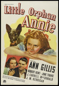 "Movie Posters:Children's, Little Orphan Annie (Paramount, 1938). One Sheet (27"" X 41""). Childrens' Drama. Starring Ann Gillis, Robert Kent, June Travi..."