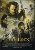 "Movie Posters:Fantasy, The Lord of the Rings: The Return of the King (New Line, 2003). OneSheet (27"" X 41"") Advance. Fantasy Adventure. Starring E..."