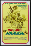 "Movie Posters:War, Massacre Harbor (United Artists, 1968). One Sheet (27"" X 41""). War.Starring Christopher George, Gary Raymond, Lawrence P. C..."
