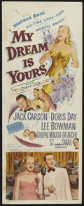 """Movie Posters:Musical, My Dream Is Yours (Warner Brothers, 1949). Insert (14"""" X 36""""). Musical Romance. Starring Doris Day, Jack Carson, Lee Bowman,..."""