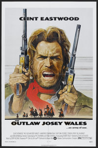 """The Outlaw Josey Wales (Warner Brothers, 1976). One Sheet (27"""" X 41""""). Western. Starring Clint Eastwood, Chief..."""