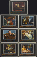 "Movie Posters:Crime, Pete Kelly's Blues (Warner Brothers, 1955). Lobby Cards (7) (11"" X14""). Crime. Starring Jack Webb, Janet Leigh, Edmond O'Br...(Total: 7 Items)"