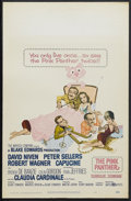 """Movie Posters:Comedy, The Pink Panther (United Artists, 1964). Window Card (14"""" X 22"""").Comedy. Starring David Niven, Peter Sellers, Robert Wagner..."""