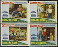 "Movie Posters:Adventure, River of No Return (Twentieth Century Fox, 1954). Lobby Cards (4)(11"" X 14""). Western. Starring Robert Mitchum, Marilyn Mon...(Total: 4 Items)"