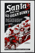 "Movie Posters:Children's, Santa & The Ice Cream Bunny (R&S Films, 1972). One Sheet(27"" X 41""). Fantasy. Starring Jay Ripley. Directed by Barry Mahon... (Total: 2 Item)"