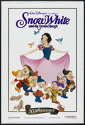 "Movie Posters:Animated, Snow White and the Seven Dwarfs (Buena Vista, R-1987). 50thAnniversary One Sheet (27"" X 41""). Animated Musical. Starring th..."