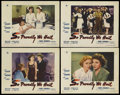 "Movie Posters:War, So Proudly We Hail (Paramount, 1943). Lobby Cards (4) (11"" X 14"").War Drama. Starring Claudette Colbert, Paulette Goddard, ...(Total: 4 Items)"
