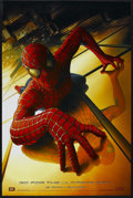 "Movie Posters:Action, Spider-Man (Columbia, 2002). One Sheet (27"" X 41""). Comic BookAction. Starring Tobey Maguire, Willem Dafoe, Kirsten Dunst a...(Total: 2 Item)"