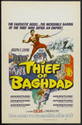 """Movie Posters:Fantasy, The Thief of Baghdad (MGM, 1961). Window Card (14"""" X 22"""").Adventure. Starring Steve Reeves, Giorgia Moll, Edy Vessel,Artur..."""