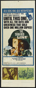 "Movie Posters:War, The Thin Red Line (Allied Artists, 1964). Insert (14"" X 36""). War.Starring Keir Dullea, Jack Warden, James Philbrook, Ray D..."