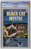 Silver Age (1956-1969):Horror, Black Cat Mystic #61 File Copy (Harvey, 1958) CGC VF- 7.5 Cream tooff-white pages. Howard Nostrand art. Overstreet 2006 VF ...