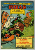 """Golden Age (1938-1955):Adventure, Classics Illustrated Giant - Great Indian Stories (Gilberton, 1949) Condition: VG/FN. Reprints """"The Pioneers,"""" """"The Pathfind..."""