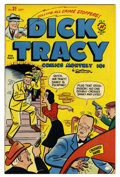 """Golden Age (1938-1955):Crime, Dick Tracy Comics Monthly #31 Davis Crippen (""""D"""" Copy) pedigree (Harvey, 1950) Condition: NM-. Overstreet 2006 NM- 9.2 value..."""