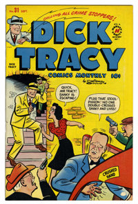 "Dick Tracy Comics Monthly #31 Davis Crippen (""D"" Copy) pedigree (Harvey, 1950) Condition: NM-. Overstreet 2006..."