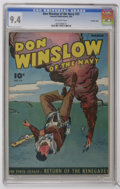 Golden Age (1938-1955):War, Don Winslow of the Navy #32 Crowley Copy pedigree Fawcett, 1946)CGC NM 9.4 Off-white pages. Overstreet 2006 NM- 9.2 value =...