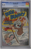 "Golden Age (1938-1955):Funny Animal, Four Color #164 Bugs Bunny - Davis Crippen (""D"" Copy) (Dell, 1947)CGC VF+ 8.5 Off-white to white pages. ""Bugs Bunny Finds t..."