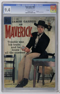 Silver Age (1956-1969):Western, Four Color #892 Maverick - File Copy (Dell, 1958) CGC NM 9.4Off-white to white pages. Maverick #1. James Garner photo c...