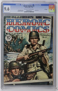 Golden Age (1938-1955):War, Heroic Comics #21 File Copy (Eastern Color, 1943) CGC NM+ 9.6Off-white to white pages. Henry Kiefer painted cover. Alexande...