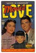 Golden Age (1938-1955):Romance, Movie Love #13 (Famous Funnies, 1952) Condition: VG/FN. RonaldReagan photo cover with one-page bio. Overstreet 2006 VG 4.0 ...