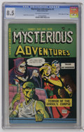 "Golden Age (1938-1955):Horror, Mysterious Adventures #2 Davis Crippen (""D"" Copy) (Story Comics,1951) CGC VF+ 8.5 Off-white to white pages. This attractive..."