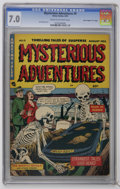 """Golden Age (1938-1955):Horror, Mysterious Adventures #9 Davis Crippen (""""D"""" Copy) (Story Comics,1952) CGC FN/VF 7.0 Cream to off-white pages. Collector's o..."""