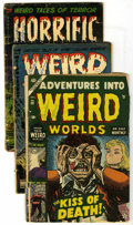 Golden Age (1938-1955):Horror, Pre-Code Horror Group (Various Publishers, 1952-54) Condition:Average FR. Includes Adventure Into Weird Worlds #23; W... (Total:12 Comic Books)
