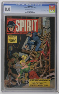 "The Spirit #1 Davis Crippen (""D"" Copy) (Fiction House, 1952) CGC VF 8.0 Off-white to white pages. Far and away..."