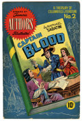 Golden Age (1938-1955):Classics Illustrated, Stories by Famous Authors Illustrated #2 Captain Blood (Seaboard Pub., 1950) Condition: VG+. Overstreet 2006 VG 4.0 value = ...