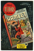 Golden Age (1938-1955):Classics Illustrated, Stories by Famous Authors Illustrated #8 Hamlet (Seaboard Pub.,1950) Condition: VG. Henry Kiefer cover and art. Overstreet ...