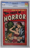 "Golden Age (1938-1955):Horror, Tales of Horror #2 Davis Crippen (""D"" Copy) (Toby Publishing, 1952)CGC VF 8.0 Cream to off-white pages. A terrific horror c..."