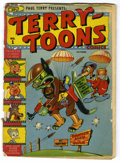 Golden Age (1938-1955):Funny Animal, Terry-Toons Comics #1 (Timely, 1942) Condition: FR. Featurescharacters that first appeared on the movie screen. Gandy Goose...