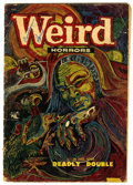 "Golden Age (1938-1955):Horror, Weird Horrors #7 (St. John, 1953) Condition: FR. William Ekgrencover. Joe Kubert and Cameron art. Gerber lists as ""uncommon..."