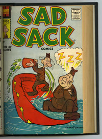 Harvey Miscellaneous Comics Bound Volume (Harvey, 1958). File copies of assorted Harvey books from May 1958 that have be...