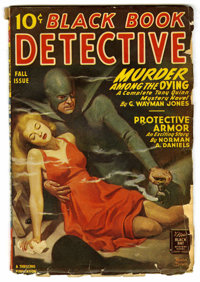 Black Book Detective - Fall 1945 (Better Publications, 1945) Condition: GD/VG. Bookery's Guide to Pulps GD value = $12;...