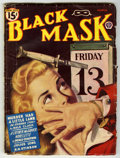 Pulps:Detective, Black Mask V26#11 (Fictioneers Inc., 1945) Condition: VG+.Off-white pages with no tanning. Bookery's Guide to Pulps VG 4.0...