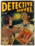 """Pulps:Detective, Detective Novel V15#2 (Thrilling Publications, 1945) Condition:GD/VG. Reprints """"The Black Path of Fear"""" by Cornell Woolrich..."""