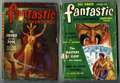 Pulps:Science Fiction, Fantastic Adventures Group (Ziff-Davis, 1946-51). Includes the May1946 issue of Fantastic Adventures (VG+, good girl/go... (Total: 2Items)