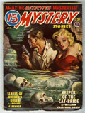 Pulps:Detective, 15 Mystery Stories V39#4 (Popular Publications, 1950) Condition:FN. Good girl/horror cover. Off-white pages, no tanning. Bo...