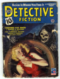 Pulps:Detective, Flynn's Detective Fiction V153#6 (Popular Publications, 1944)Condition: GD. Skeleton cover. Bookery's Guide to Pulps GD val...
