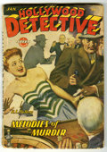 Pulps:Detective, Hollywood Detective V3#3 (Trojan Publishing, 1944) Condition: VG. Bookery's Guide to Pulps VG value = $30....
