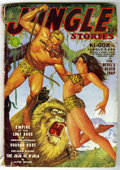 Pulps:Adventure, Jungle Stories V2#4 (Fiction House, 1942) Condition: VG. Bookery's Guide to Pulps VG value = $35....