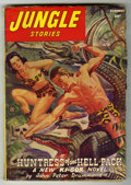 Pulps:Adventure, Jungle Stories V3#3 (Fiction House, 1945) Condition: VG. Bookery's Guide to Pulps VG value = $35....